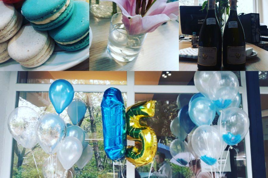 Оur 15th Anniversary!